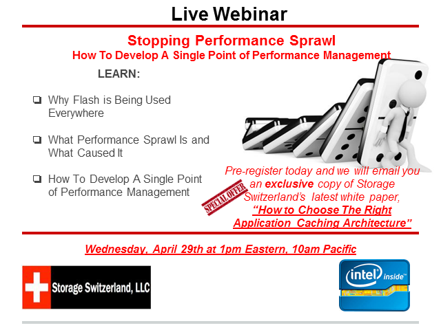 Stopping Performance Sprawl - Develop A Single Point of Performance Management