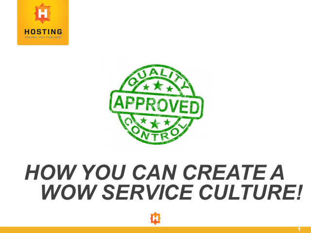 How You Can Create a WOW Service Culture!