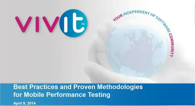 Best Practices and Proven Methodologies for Mobile Performance Testing