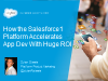 How the Salesforce1 Platform Accelerates App Dev with Huge ROI