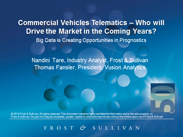 CV Telematics: Who will Drive the Market in the Coming Years?