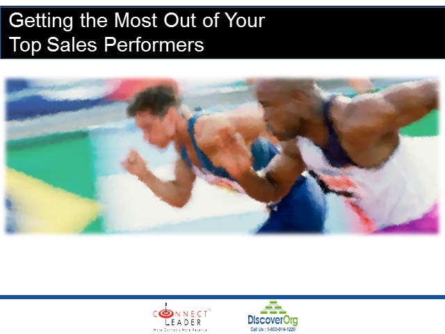 Getting More Out of Your Top Sales Performers