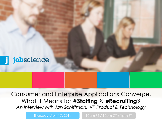 Talent Insight LIVE: Convergence of Consumer & Enterprise Applications