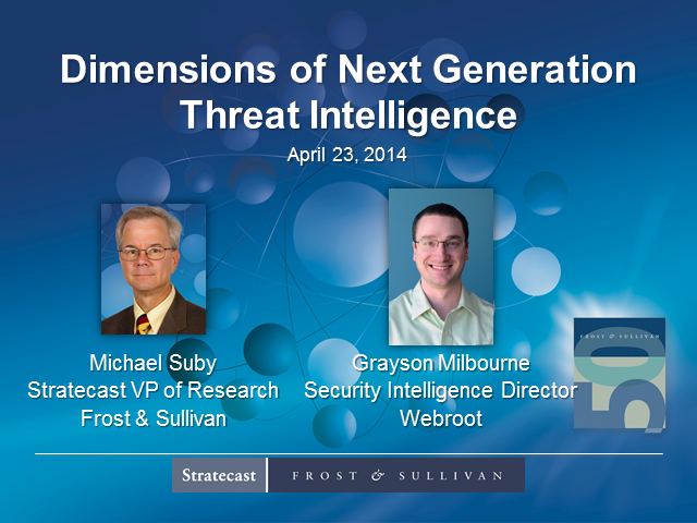 Dimensions of Next Generation Threat Intelligence