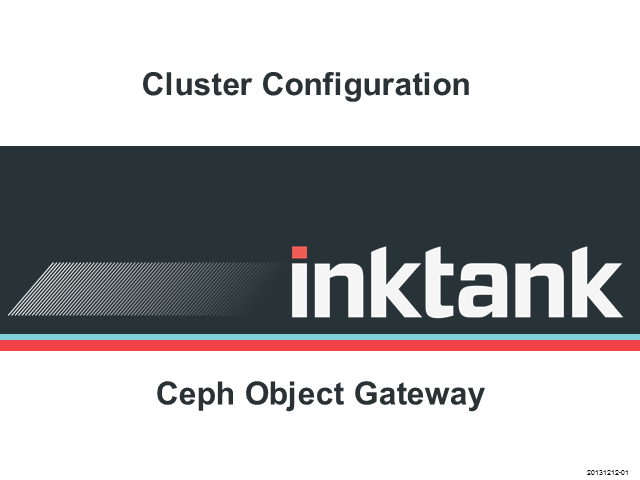 How to configure your servers for the Ceph object gateway?