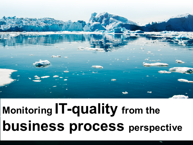 Monitoring IT Quality from the Business Process Perspective