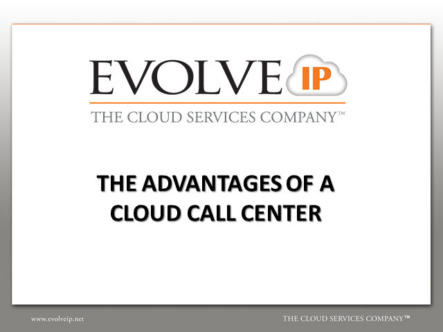 Why Migrate to a Cloud Call Center?