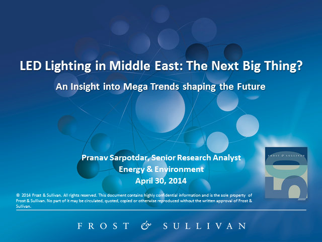 LED Lighting in Middle East: The Next Big Thing?