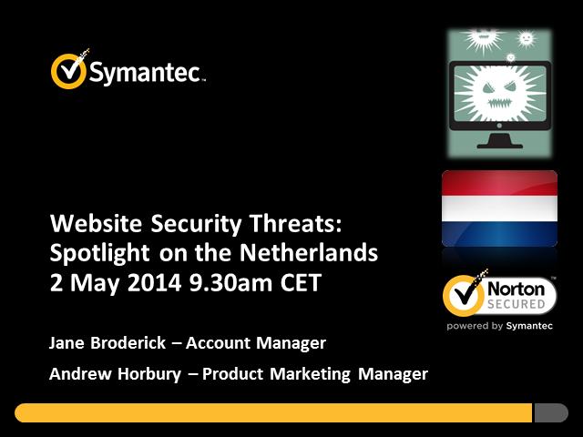 Website Security Threats:  Spotlight on the Netherlands