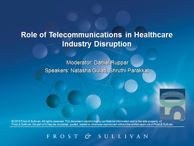Telecommunication Takes On Healthcare