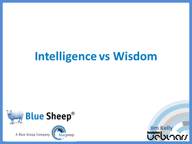 Intelligence vs. Wisdom: The Single Customer View