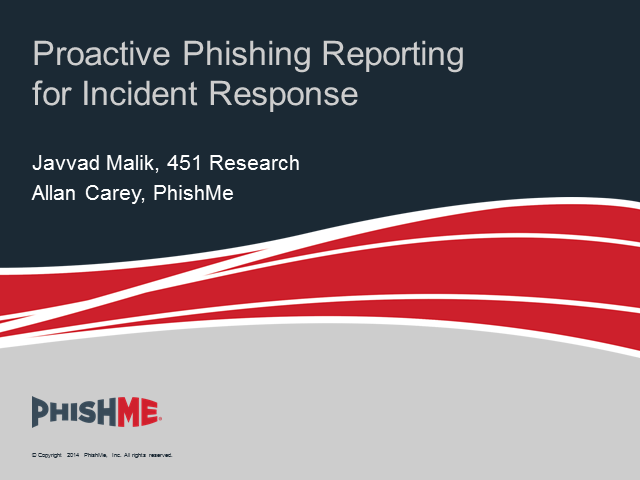 Proactive Phishing Reporting for Incident Response