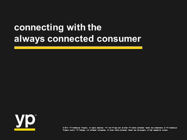 How Small Business Can Connect with the Always Connected Consumer