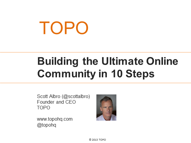Building the Ultimate Online Community in 10 Steps