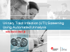Urinary Tract Infection (UTI) Screening Using Automated Urinalysis
