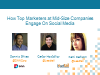 How to Engage B2B Marketers Using Social Media