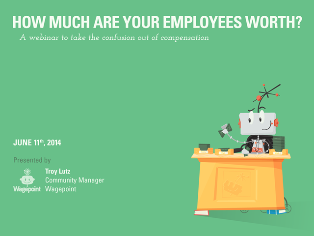 How Much Are Your Employees Worth?