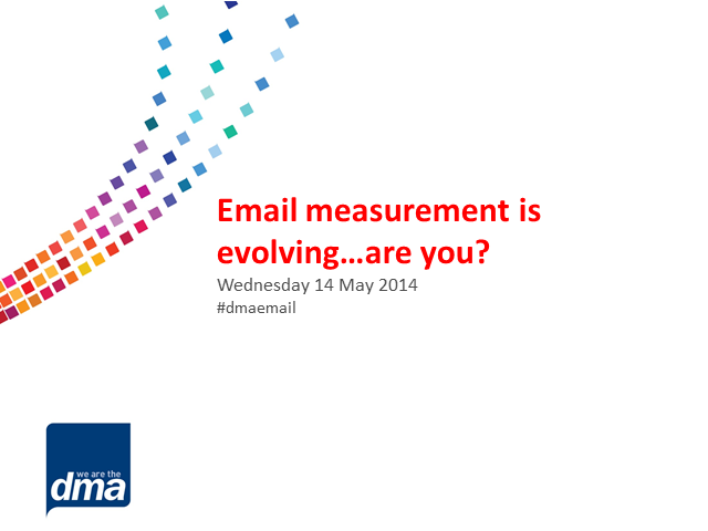 Email measurement is evolving...are you?