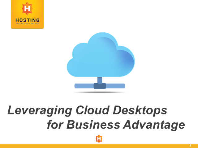 Leveraging Cloud Desktops for Business Advantage