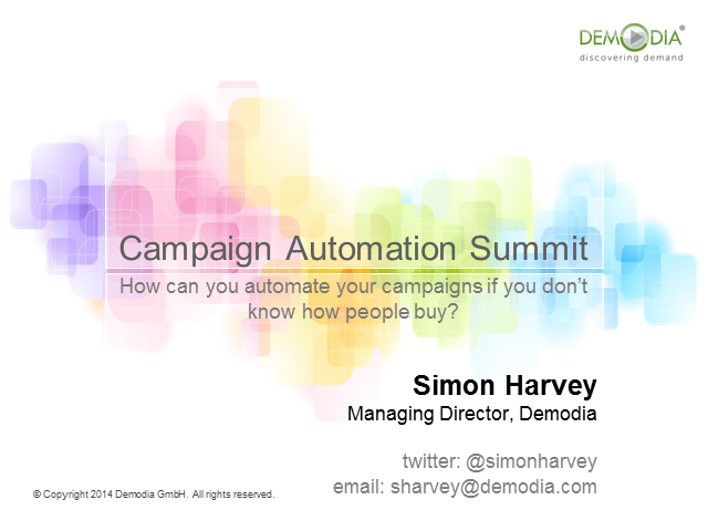 How Can You Automate Your Campaigns If You Don't Know How People Buy?