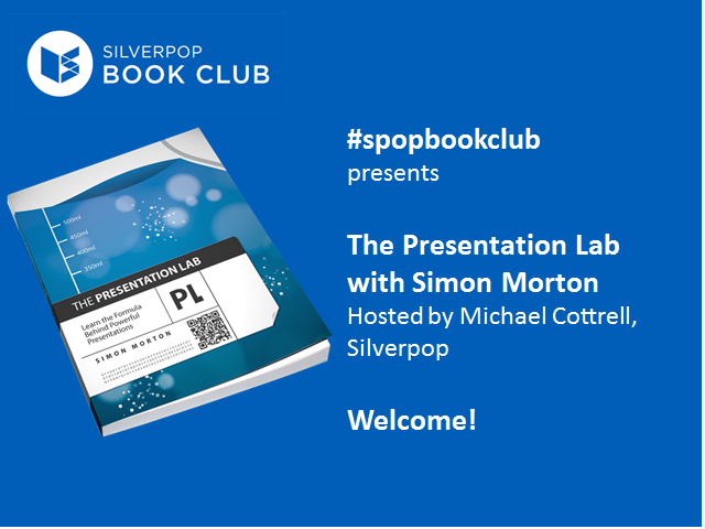 #spopbookclub presents The Presentation Lab with Simon Morton