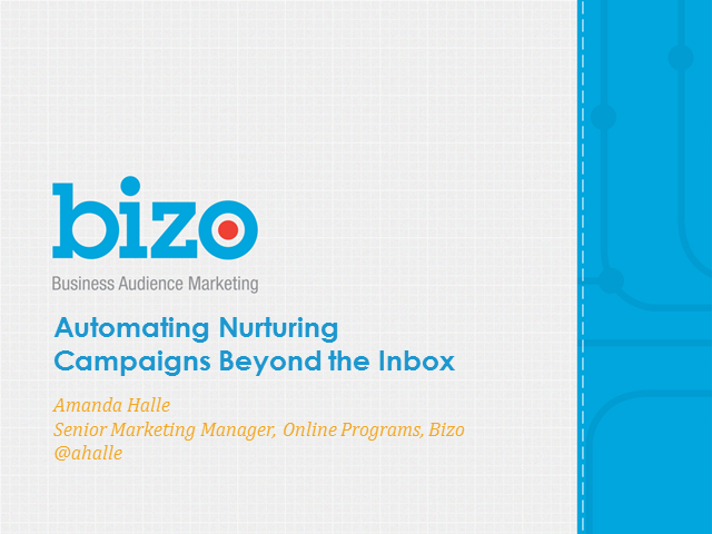 Automating Nurturing Campaigns Beyond the Inbox