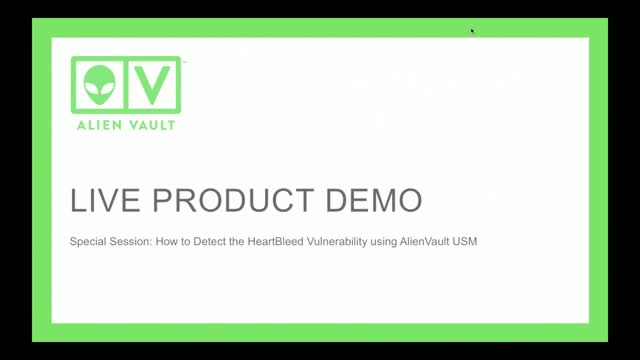 How to Detect the Heartbleed Vulnerability using AlienVault USM™
