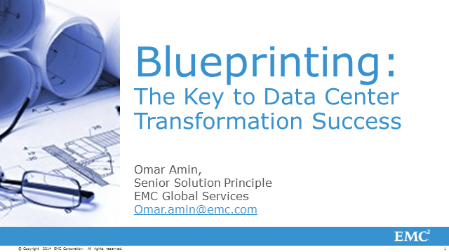 Blueprinting: The Key to Data Center Transformation