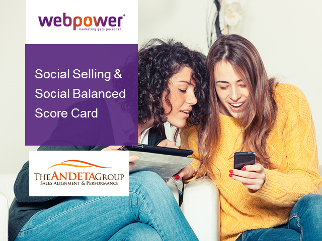Social Selling and The 'Social Sales' Scorecard