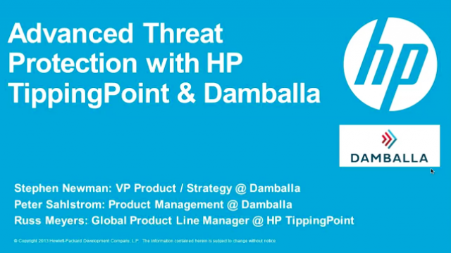 HP TippingPoint enhances perimeter protection to defend against advanced threats