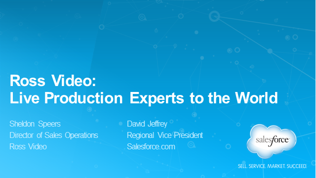 Ross Video:  Live Production Experts to the World