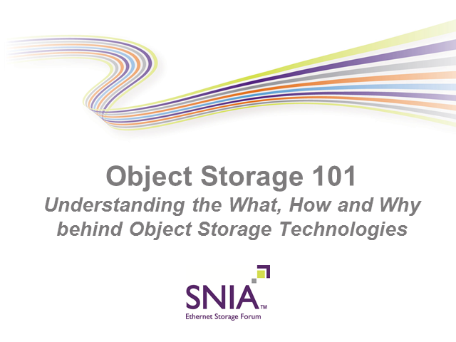 Object Storage 101: Understanding the What, How and Why