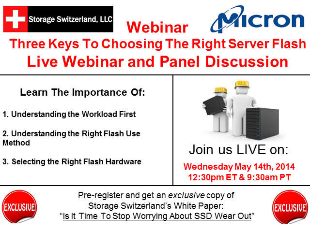 Three Keys To Choosing The Right Server Flash