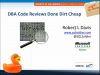 DBA Code Reviews Done Dirt Cheap