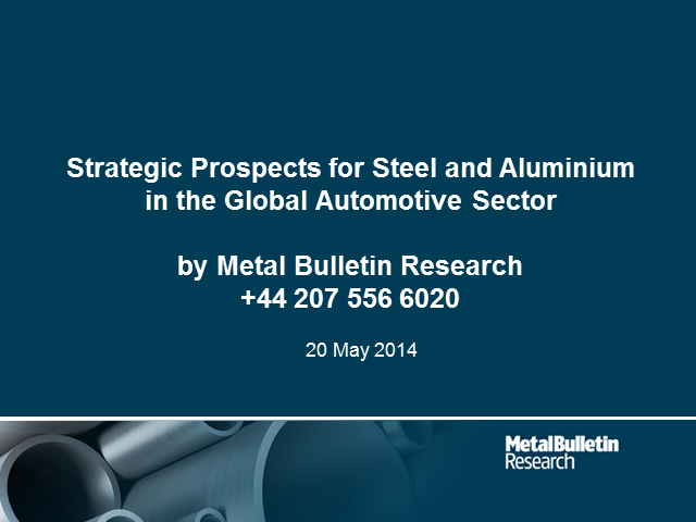 Aluminium to drive steel out of car industry