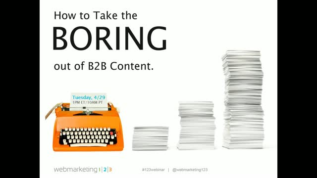 How to Take the Boring out of B2B Content