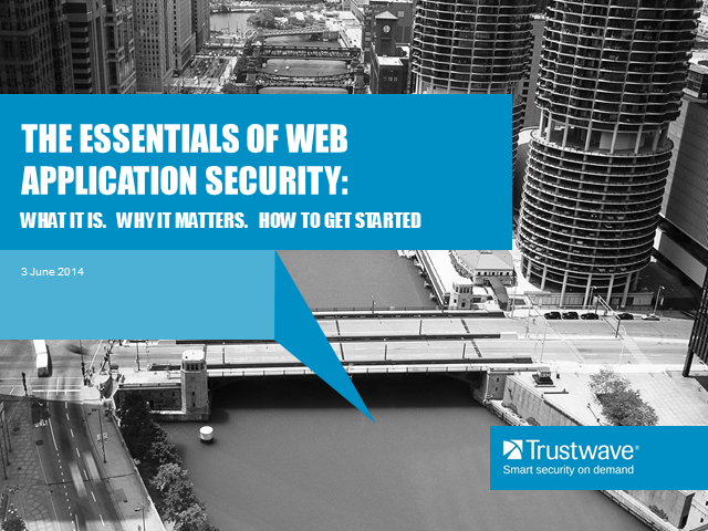 Essentials of Application Security: Why it matters and how to get started
