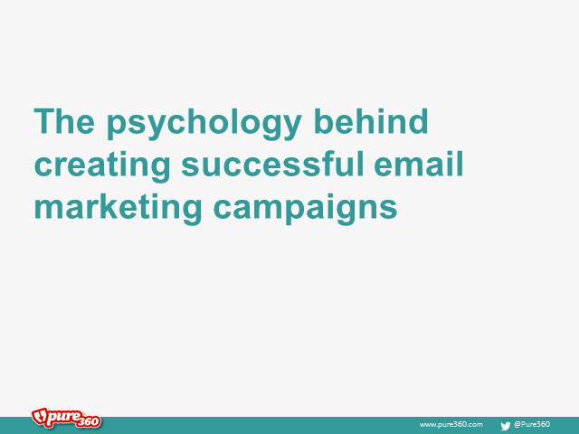 The psychology behind creating successful email marketing