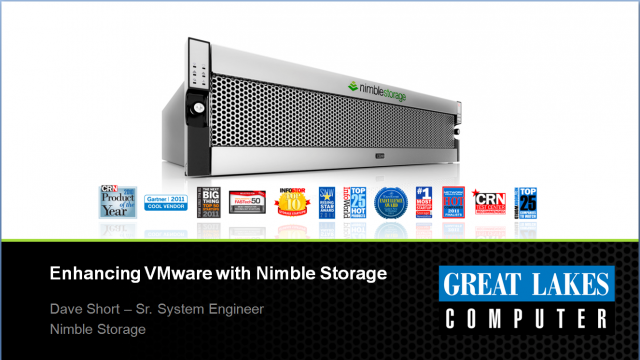 Nimble Storage and its Integration with VMware ESX and View