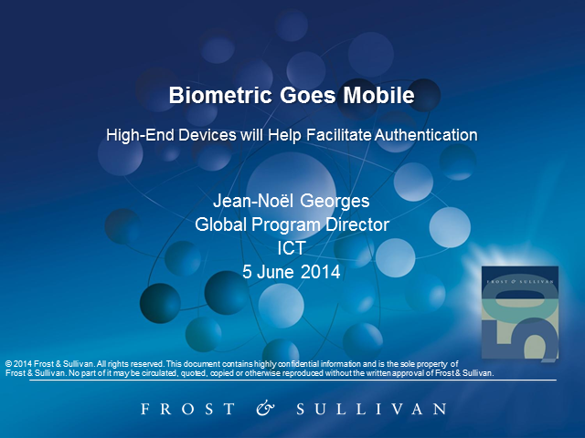 Biometric Goes Mobile