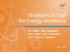 Strategies to Fuel the Energy Workforce