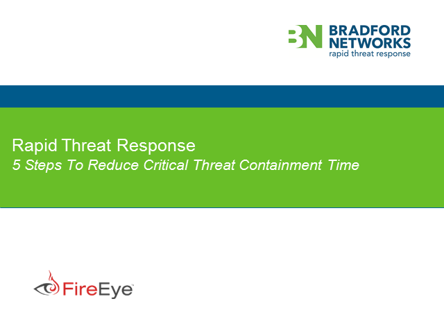 Five Steps to Reduce Critical Threat Containment Time
