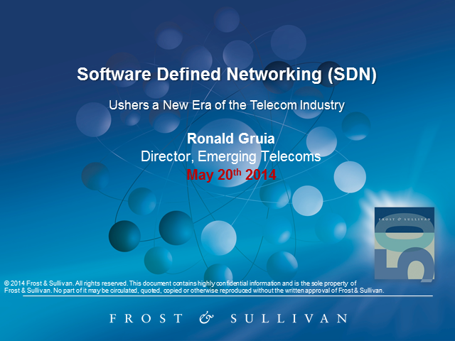 SDN Ushers a New Era in the Telecom Industry