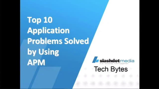 Top 10 Application Problems Solved by Using APM