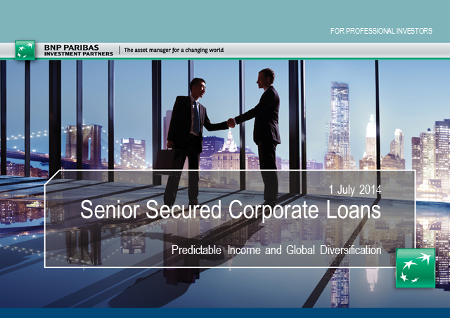 Senior Secured Corporate Loans – Predictable Income and Global Diversification