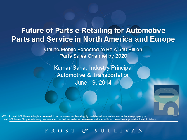 The Future of e-Retailing in Automotive Aftermarket