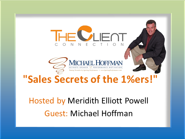 """Sales Secrets of the 1%ers!"""