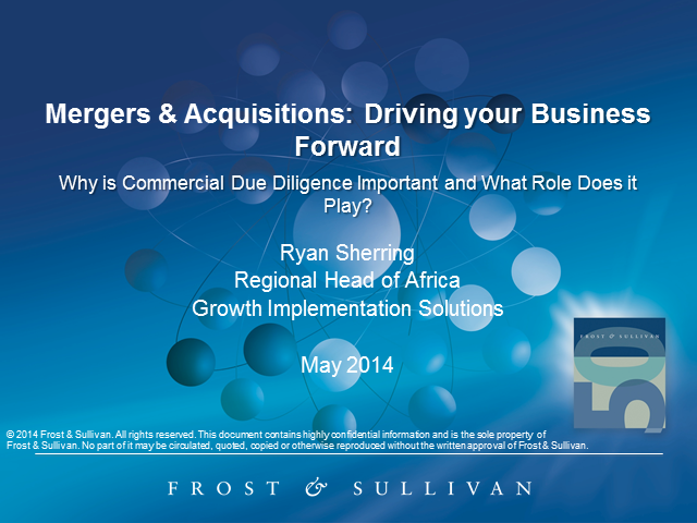 Mergers & Acquisitions: Driving your Business Forward