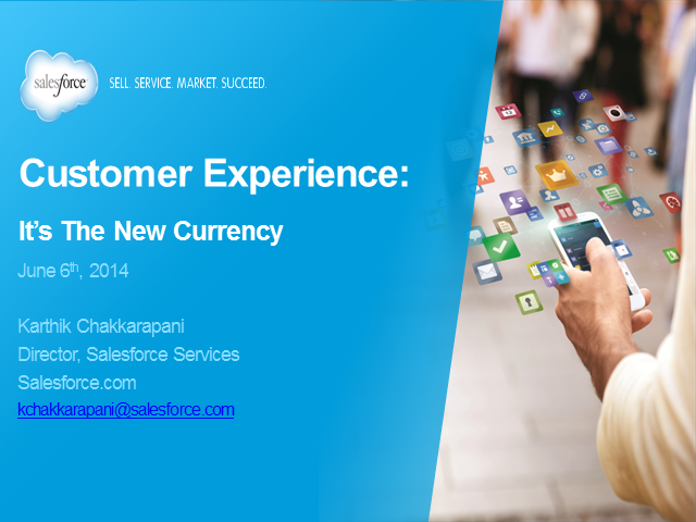 Customer Experience is the New Currency