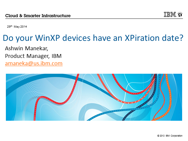 Do your WinXP devices have an XPiration date?